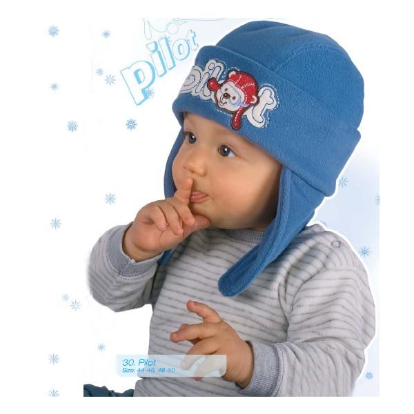 Связать шапку для новорожденного теплую